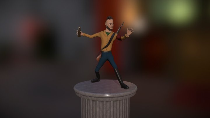 Stylized Character Based on Self 3D Model