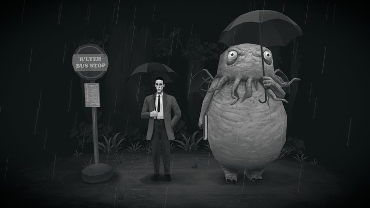 My neighbor Cthulhu 3D Model