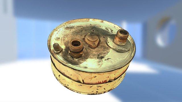 Coffee can amplifier 3D Model