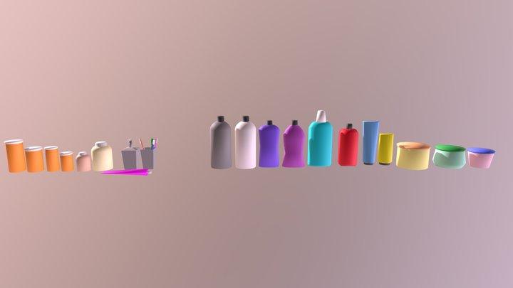 Bathroom Stuff 3D Model