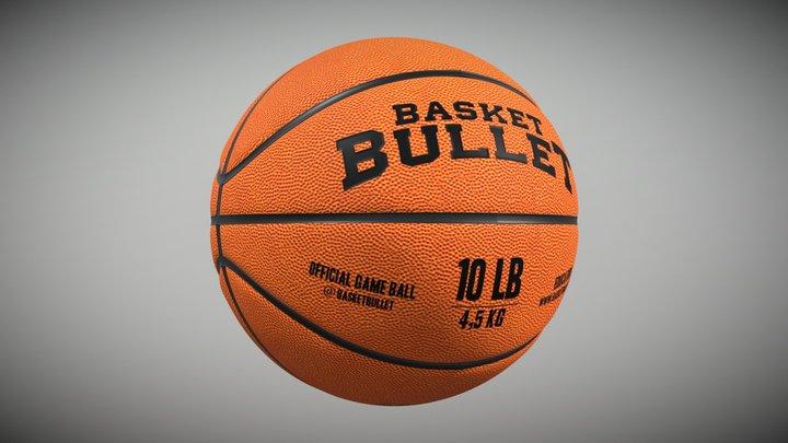 Basket Bullet 10 LB 3D Model