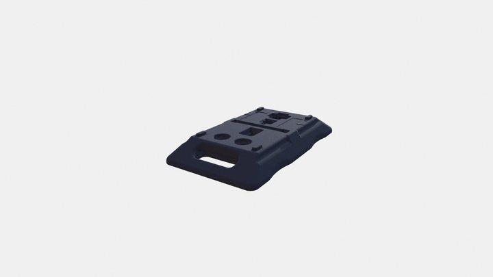 15kg Footplate 3D Model