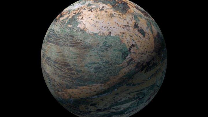 Planet Jinx 3D Model