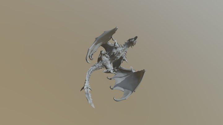 Dragon-2 3D Model