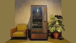 Top Secret Vending Machine 3D Model
