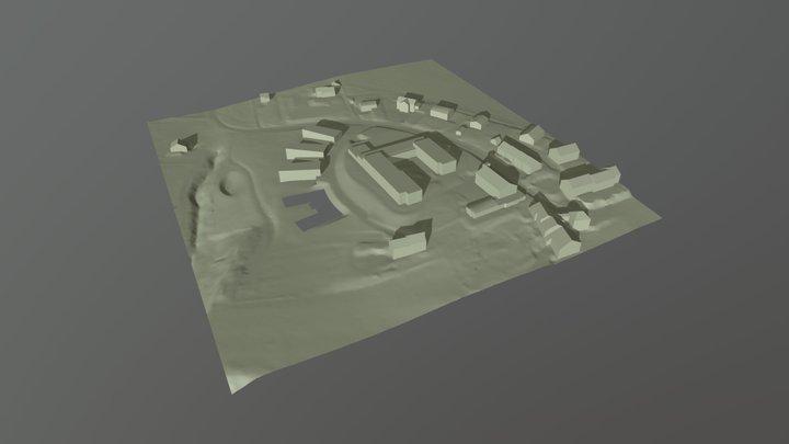 Maquette_temp 3D Model