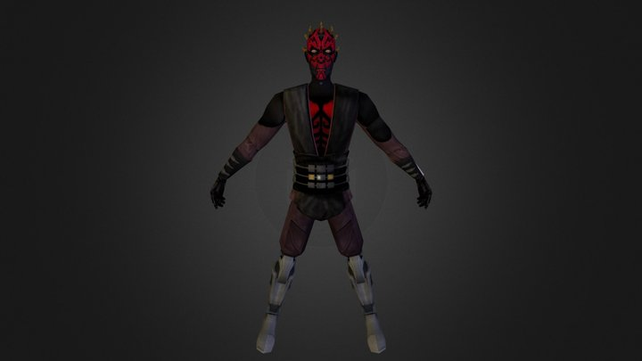 Death Watch Maul 3D Model