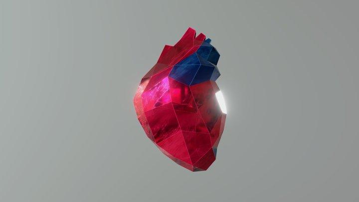 Heart Bit 3D Model