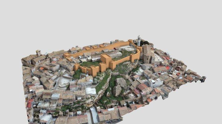 Castillo de Hellín 3D Model