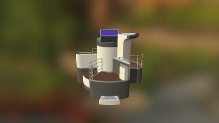 Módulo De Lavado1 3D Model