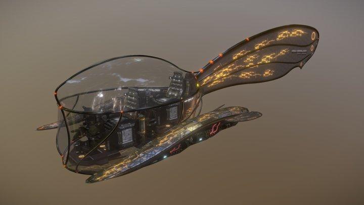 Mapleseed Hawk 3D Model