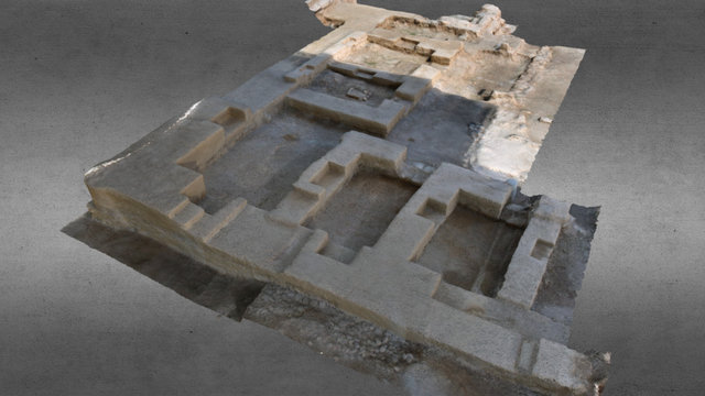 ancient madrasah 3D Model
