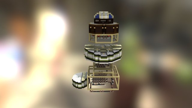 Spawn (InchiBattle [1.8] [v2.0]) 3D Model