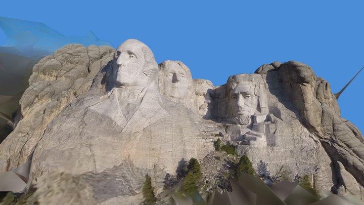 Mt Rushmore 3D Model