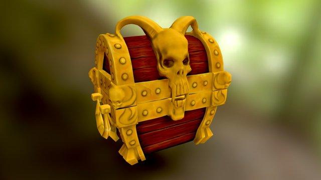 Tersure Chest 3D Model