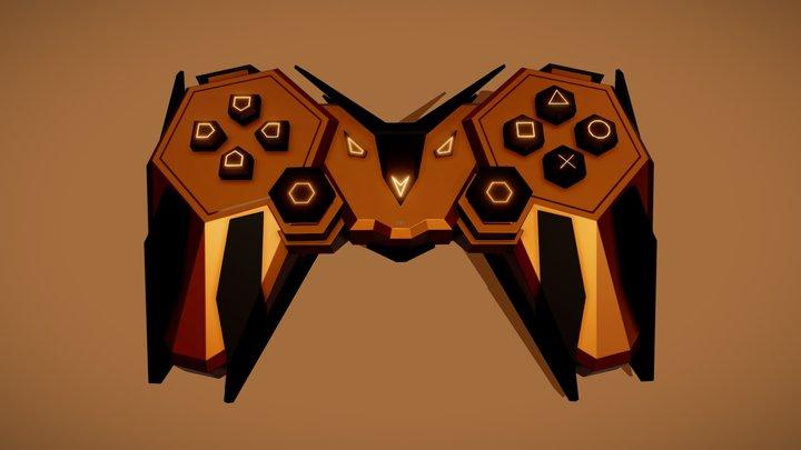 Gamepad  - Scifi 3D Model