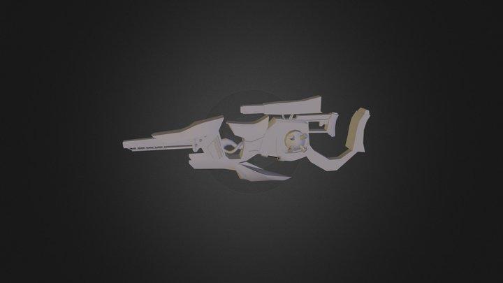 SpaceGun002 3D Model