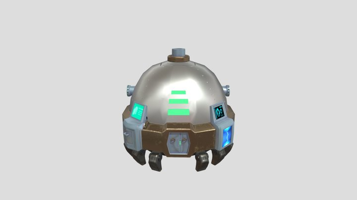 Underwater Hub 3D Model