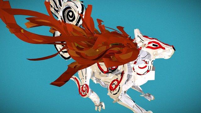 Okami Tiltbrush V2 3D Model