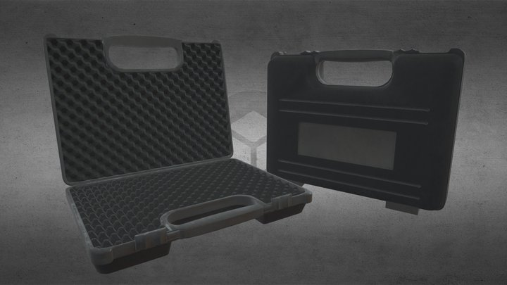 Tool/gun storage case 3D Model