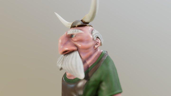 Retired Viking 3D Model