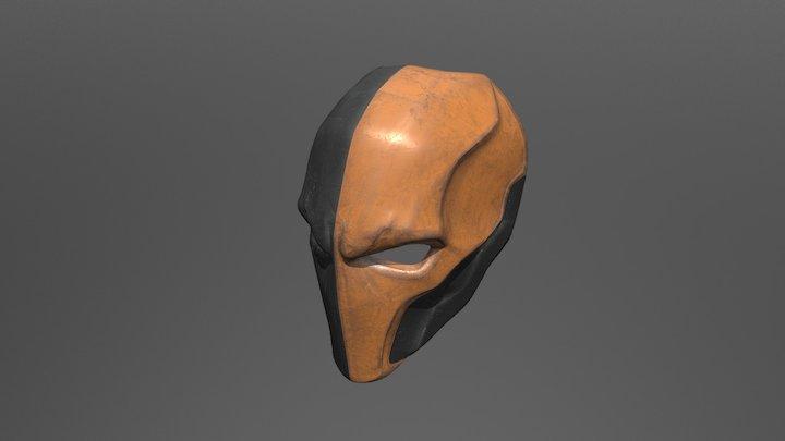 Deathstroke Mask 3D Model