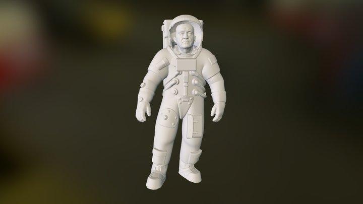 ASZTRONAUTA HUMANTI 3D Model