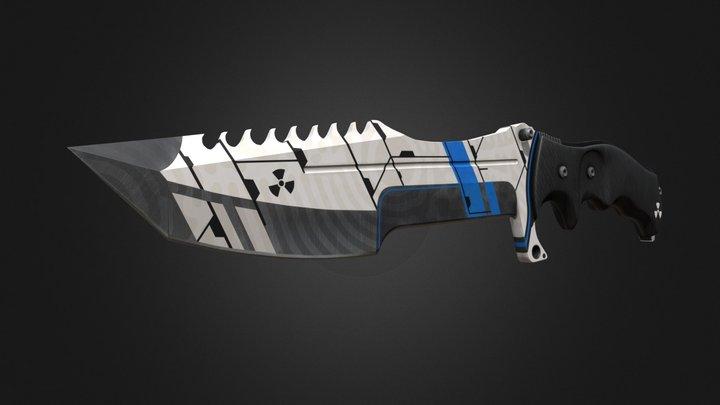 Huntsman - Toxic Waste (Blue) 3D Model
