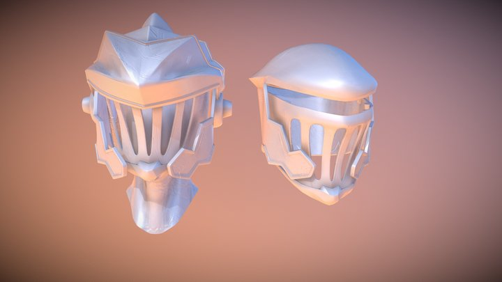 Goblin Slayer Helmet 3D Model