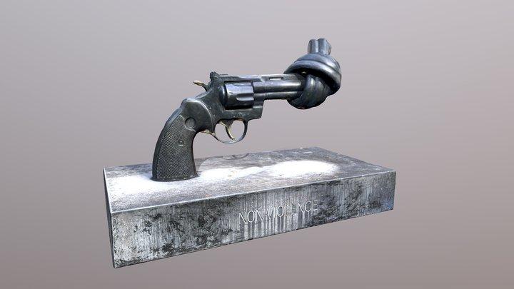Non Violence 3D Model