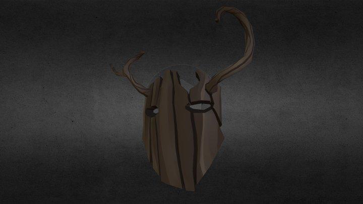 Forest Spirit Mask 3D Model