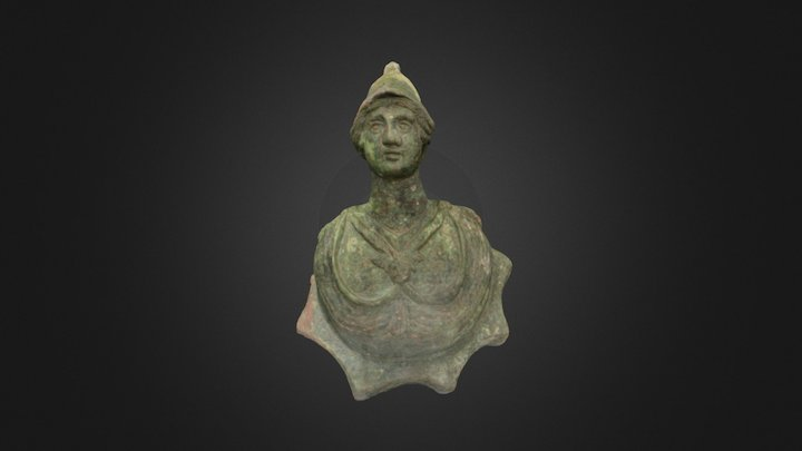 Bust of Athena 3D Model