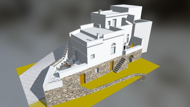 Grèce 3D Model