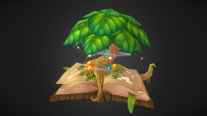 Book of Life 3D Model