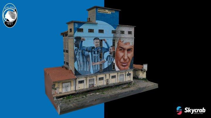 Murale Coppa Italia 2019 - Atalanta B.C. 3D Model