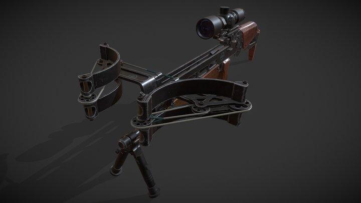 Tactical Crossbow 3D Model