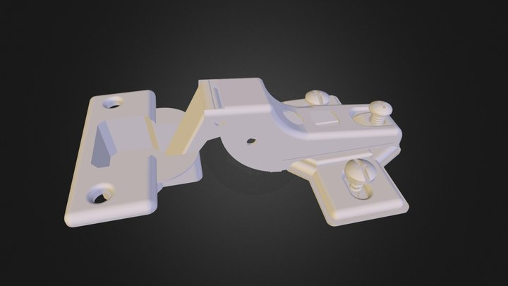 Hinge for doors of different products N310513 3D Model