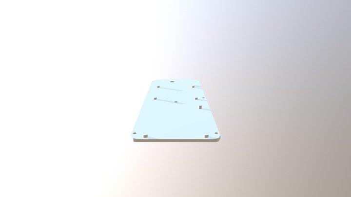 Right Side Panel for Star Trek Tricorder 3D Model