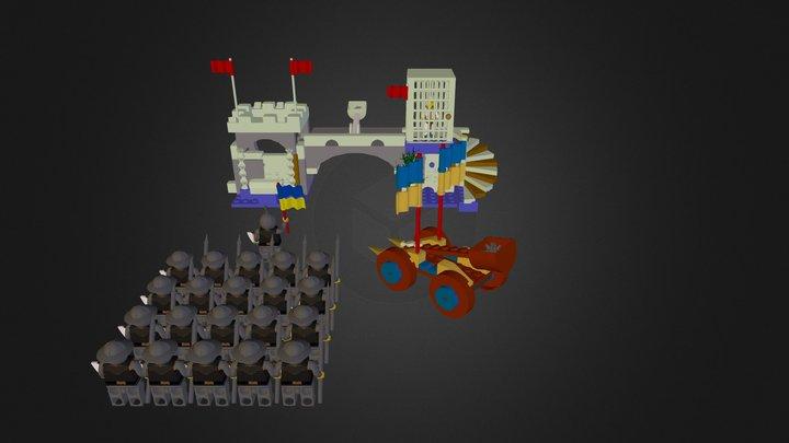 Dragon mountain 3D Model