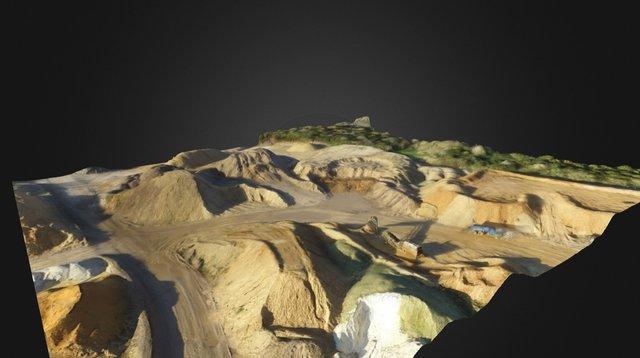 Quarry 3D Model