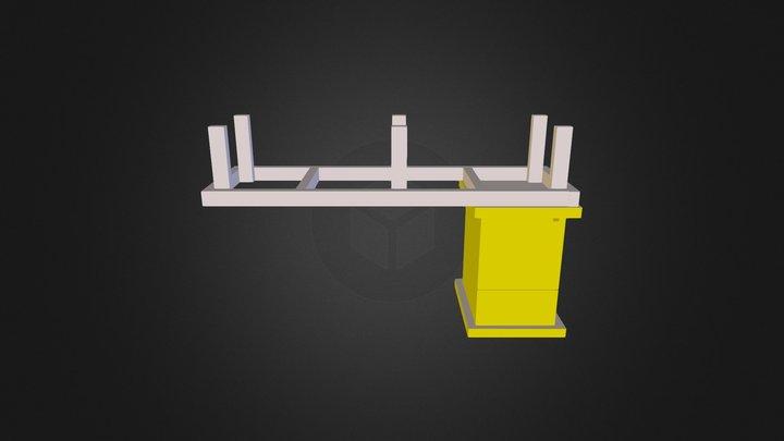 Hivestand 3D Model
