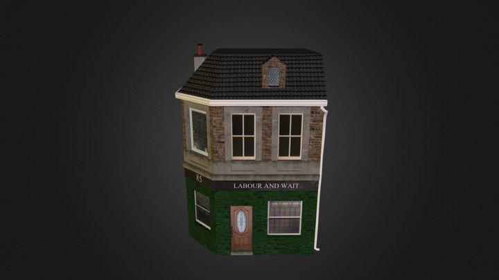 Labour and wait shop 3D Model