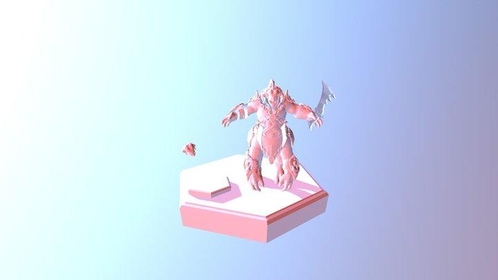 Tide Monster 3D Model