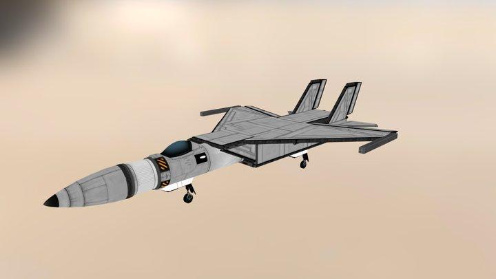MiG-25 Foxbat Mk. 3 3D Model