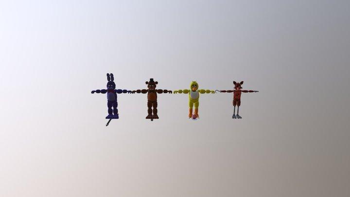 Fnaf-files 3D Model