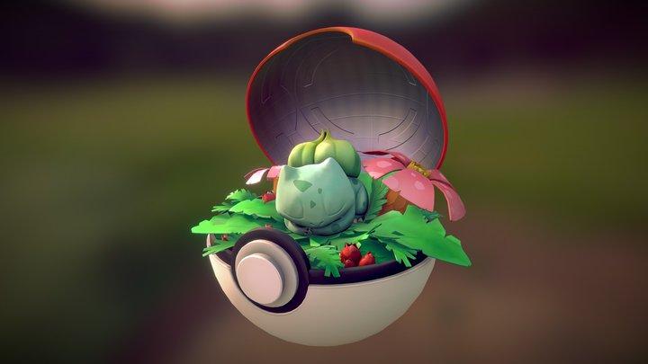 Bulbasaur's Nap Time! 3D Model