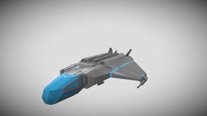 Spaceship (ALT 203) 3D Model