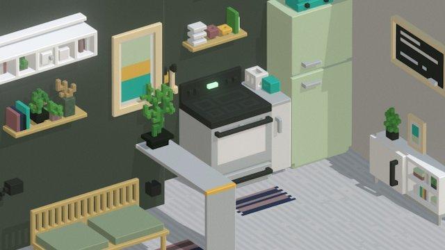 Interior study 3D Model