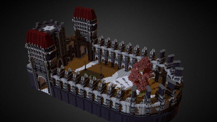 Forsaken Manor - Schematic Store 3D Model