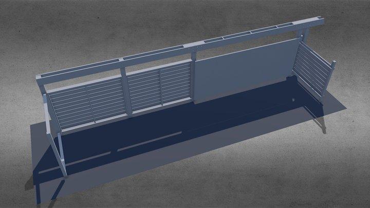 Cloture 02 3D Model